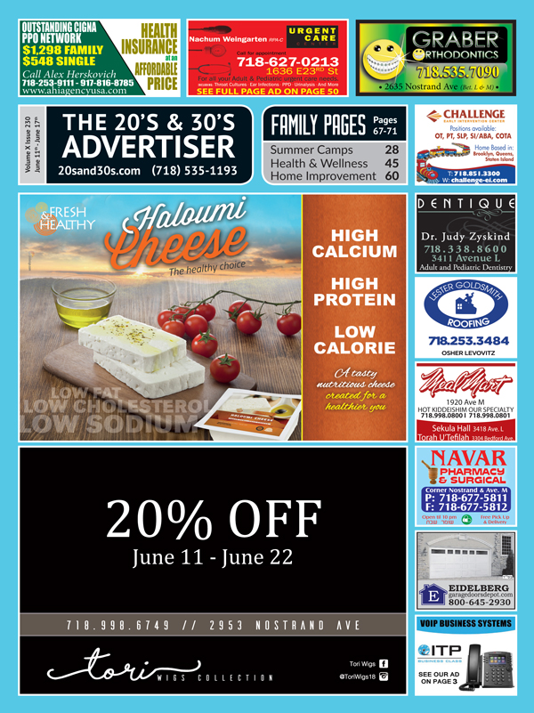View the 20s and 30s Advertiser issue #230