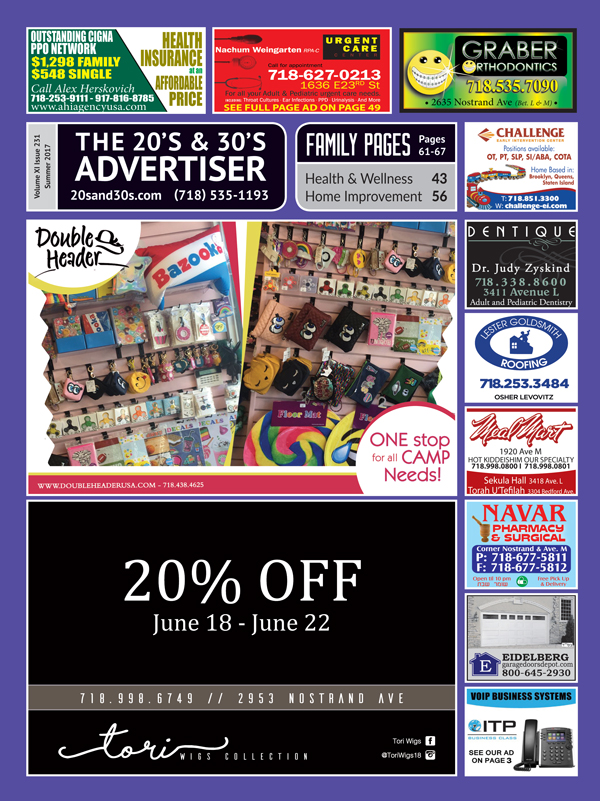 View the 20s and 30s Advertiser issue #231