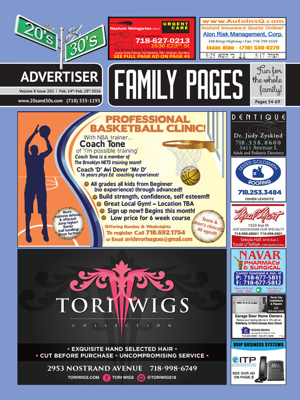 View the 20s and 30s Advertiser issue #202