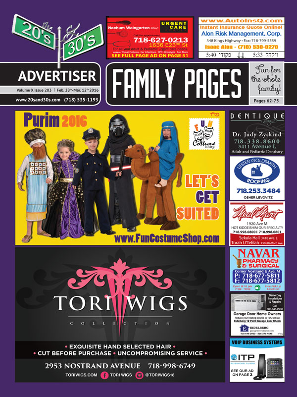 View the 20s and 30s Advertiser issue #203