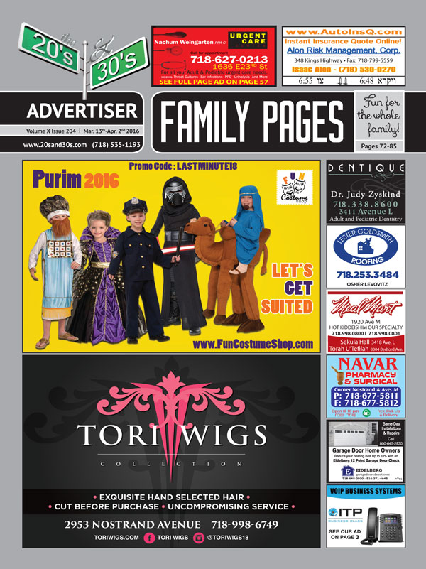 View the 20s and 30s Advertiser issue #204