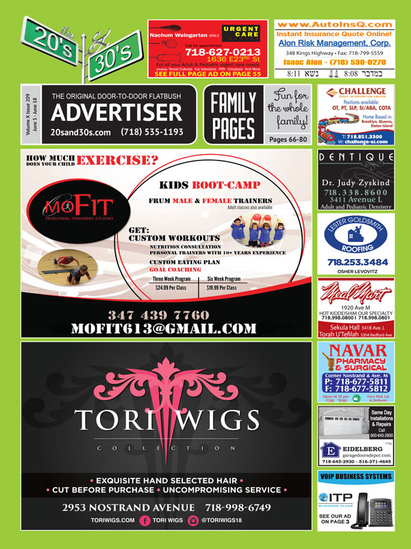 View the 20s and 30s Advertiser issue #209