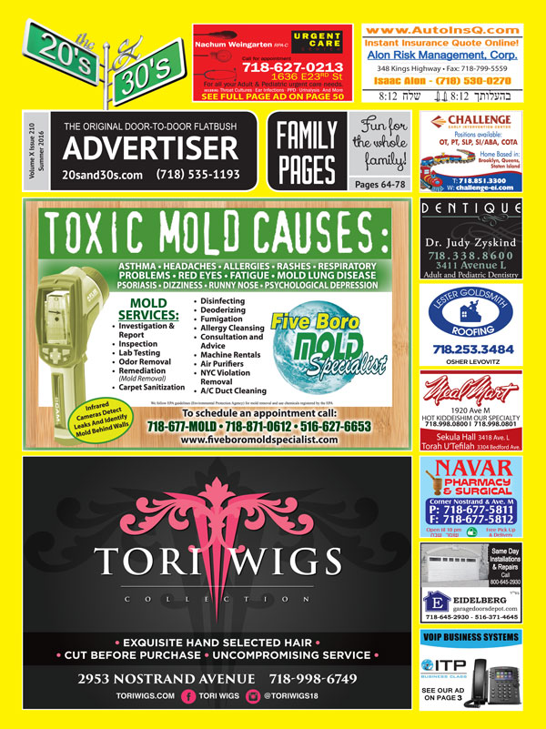 View the 20s and 30s Advertiser issue #210