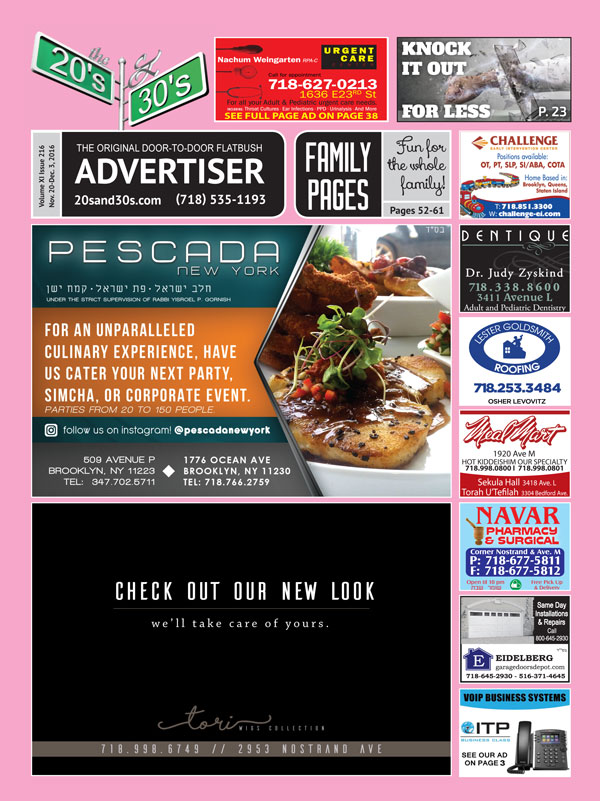 View the 20s and 30s Advertiser issue #216