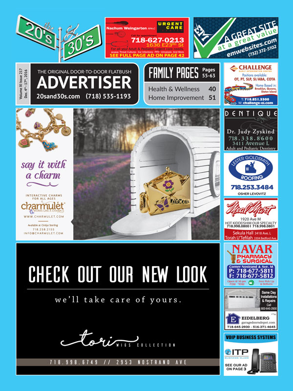 View the 20s and 30s Advertiser issue #217