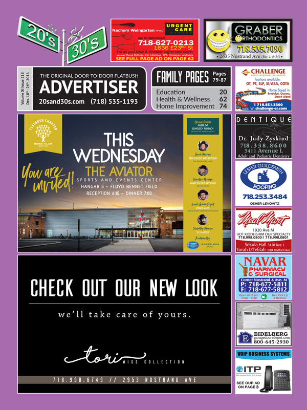 View the 20s and 30s Advertiser issue #218