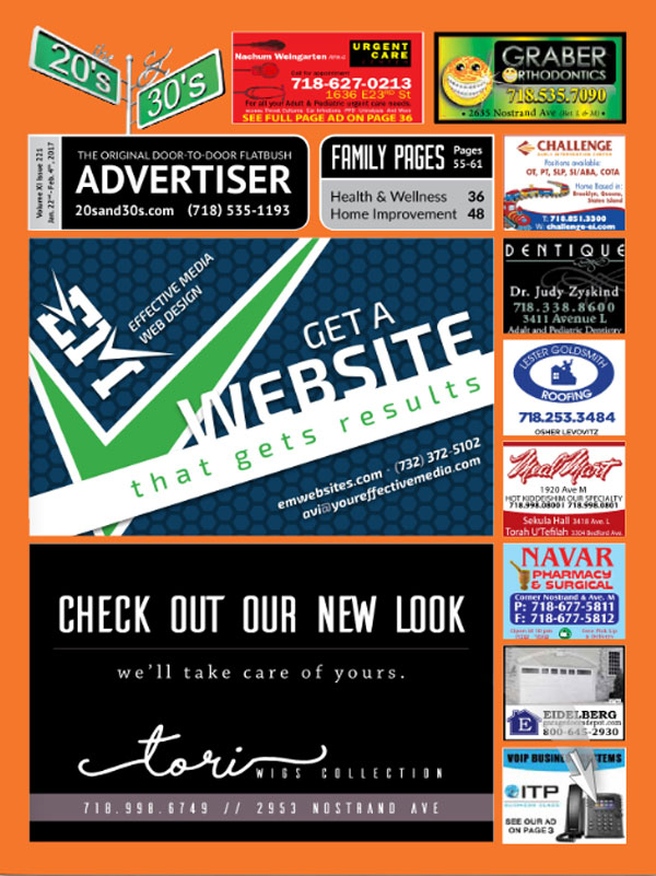 View the 20s and 30s Advertiser issue #221