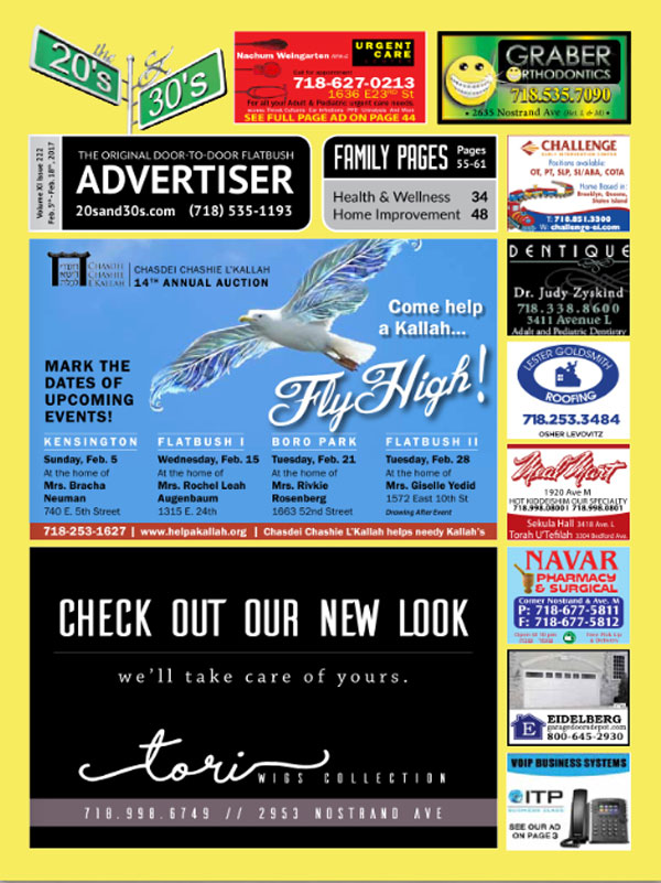 View the 20s and 30s Advertiser issue #222