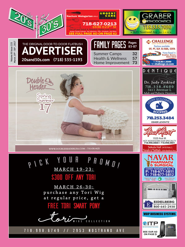 View the 20s and 30s Advertiser issue #225