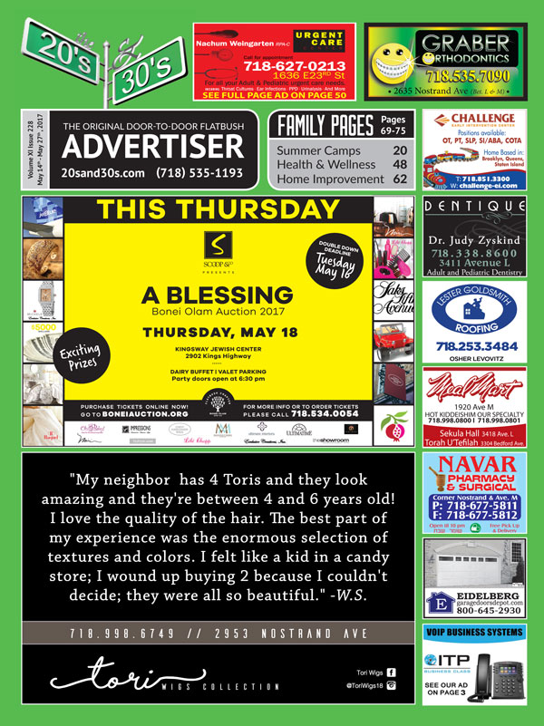 View the 20s and 30s Advertiser issue #228