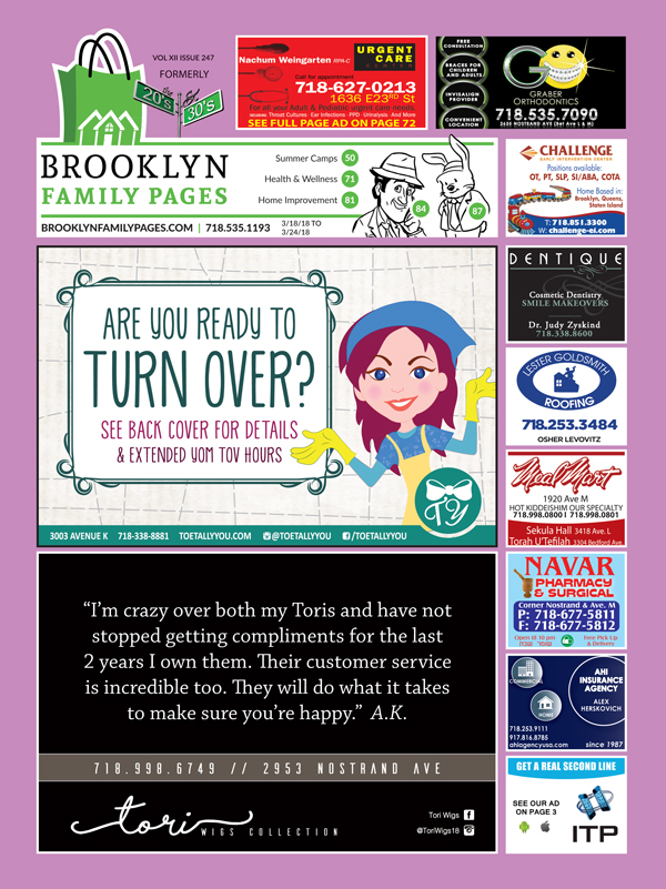 Recent Issues - Brooklyn Family Pages